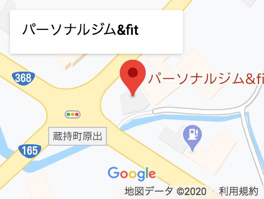 ホームジム・ジム機材はINFINITY(インフィニティ)の地図
