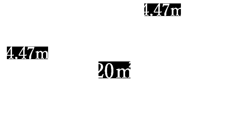 ホームジムパッケージの20平方メートル
