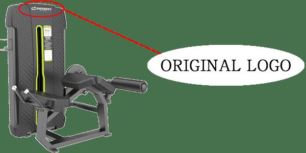ホームジム・ジム機材はINFINITY(インフィニティ)のオリジナルロゴ刻印