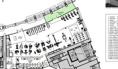 ホームジム・ジム機材はINFINITY(インフィニティ)のレイアウト図形のイメージ