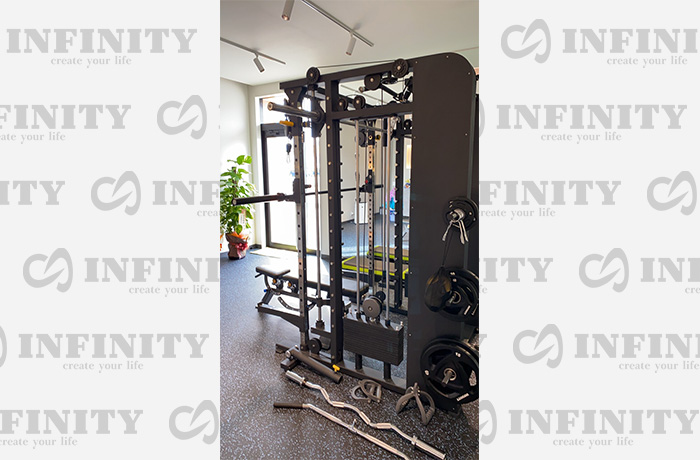 ホームジム・ジム機材はINFINITY(インフィニティ)の導入事例イメージ3